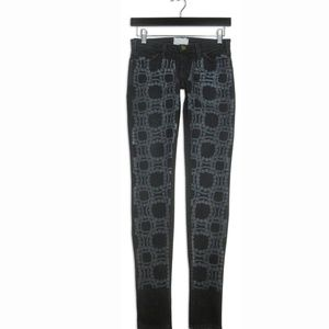 Current/Elliott 24 Marni Black Pearl Skinny Jeans